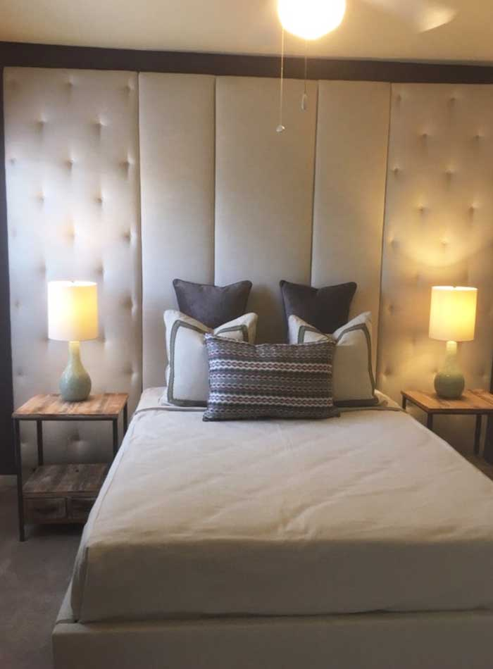 custom-headboard-nightstand-lamps