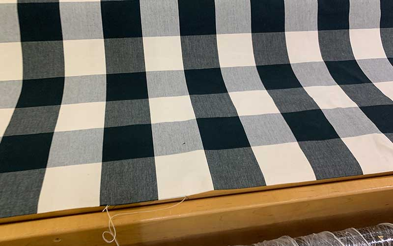what is buffalo checkered fabric