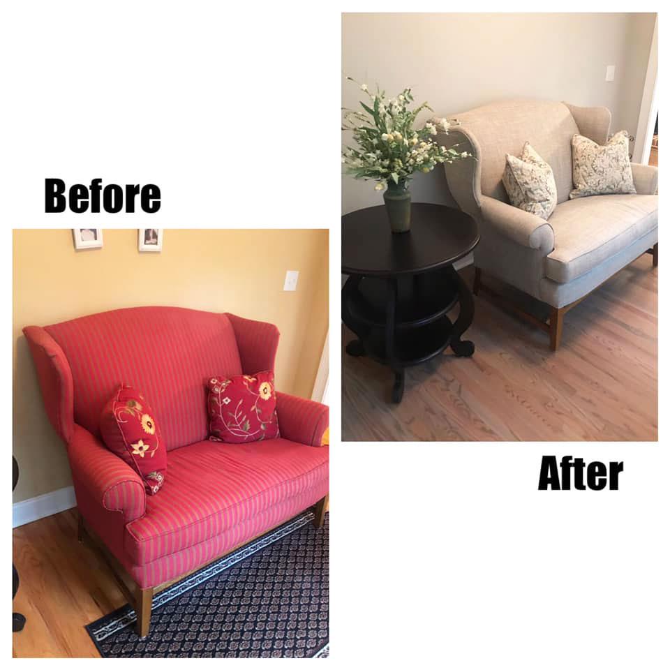 chair reupholstery in atlanta ga
