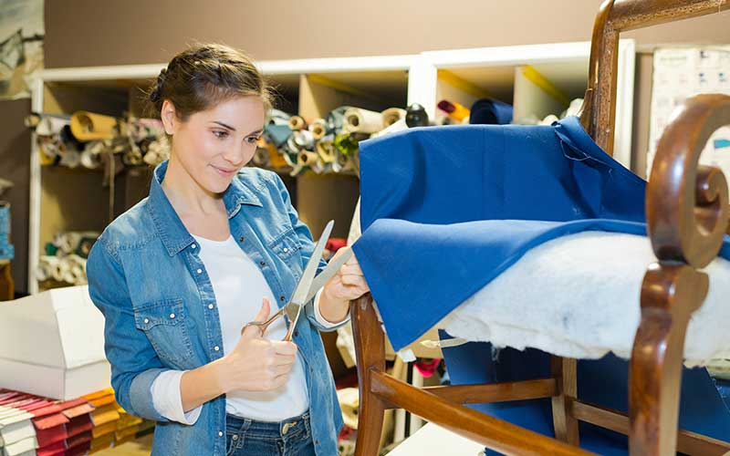 how to estimate fabric yardage for upholstery